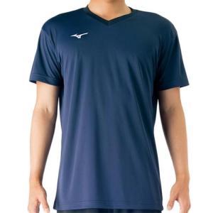 ミズノ(MIZUNO) プラクティスシャツ Jr. ドレスネイビー V2MA708814 バレーボール トレーニングウェア ジュニア プラシャツ|esports