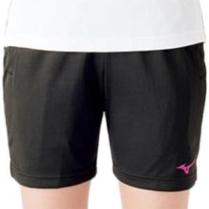 ミズノ(MIZUNO) ハーフパンツ ブラック×ベリーピンク V2MB721297 バレーボール トレーニングウェア プラパン|esports