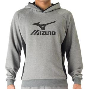 ミズノ(MIZUNO) スウェットシャツ ベイパーシルバー V2MC704004 バレーボール トレーニングウェア パーカー ジャケット|esports