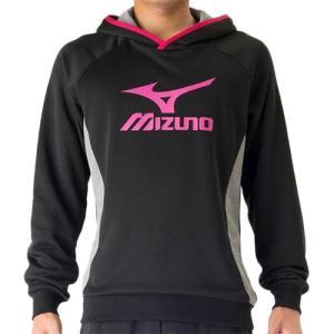 ミズノ(MIZUNO) スウェットシャツ ブラック V2MC704009 バレーボール トレーニングウェア パーカー ジャケット|esports
