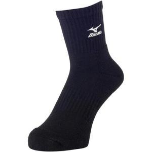 ミズノ(MIZUNO) ミドルソックス ブラック V2M×700809 バレーボール トレーニングウェア 靴下|esports