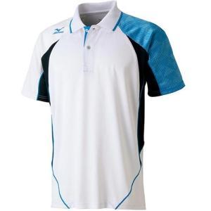 ミズノ(MIZUNO) ゲームシャツ 62JA601572 バドミントンウェア テニスウェア 半袖 メンズ レディース|esports