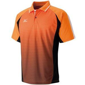 ミズノ(MIZUNO) ゲームシャツ 62JA601753 バドミントンウェア テニスウェア 半袖 メンズ レディース|esports