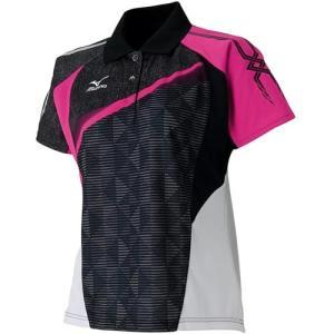 ミズノ(MIZUNO) レディース ゲームシャツ 62JA621109 バドミントンウェア テニスウェア 半袖シャツ|esports