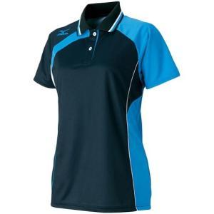ミズノ(MIZUNO) レディース ゲームシャツ 62JA621309 バドミントンウェア テニスウェア 半袖シャツ|esports