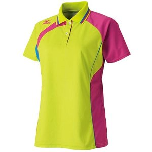 ミズノ(MIZUNO) レディース ゲームシャツ 62JA621337 バドミントンウェア テニスウェア 半袖シャツ|esports
