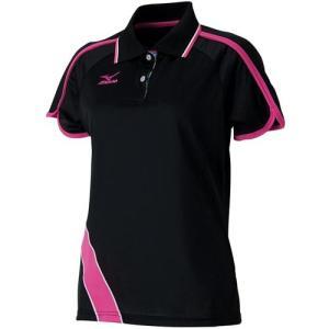 ミズノ(MIZUNO) レディース ゲームシャツ 62JA621409 バドミントンウェア テニスウェア 半袖シャツ|esports