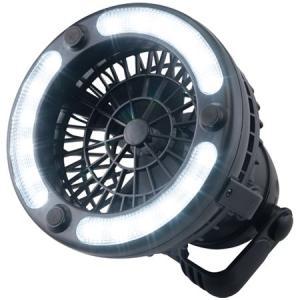 バンドック(BUNDOK) キャンプ ファン付きLEDライト BD-296 アウトドア 暖房 循環 扇風機|esports