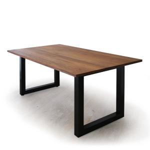 ダイニングテーブル マスターウォール ワイルドウッドダイニングテーブルW1600  ウォールナット スチールレッグス WWDT1685SL-WN Masterwal|esprit