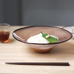 ガラス 食器 kasumi bowl  カスミ ボウル ( SIZE:M   purple ) fr...