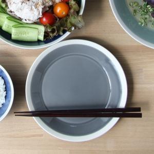 プレート 木村硝子店 × イイホシユミコ Dishes 180plate ( fog gray ) ...