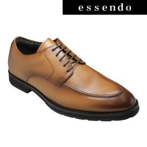 アビーロード/ビジネスシューズ(Uチップ)AB1151(ライトブラウン)/メンズ 靴|essendo