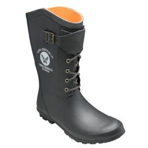 アルファ/レースアップレインブーツ/AF-R4000(ブラック)/メンズ 靴|essendo