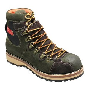 アルファ/マウンテンブーツ レースアップ/AF1941 アーミー/多彩な素材を使用/メンズ 靴|essendo