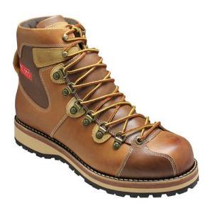 アルファ/マウンテンブーツ レースアップ/AF1941 キャメル/多彩な素材を使用/メンズ 靴|essendo