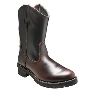 アルファ/ブーツ プルオンブーツ/AF1948 ダークブラウン/グッドイヤーウェルト製法/メンズ 靴|essendo
