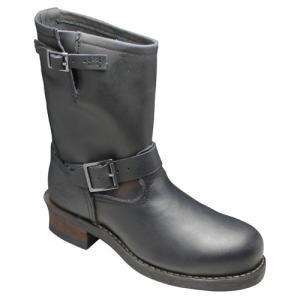 アルファ/エンジニアハーフブーツ/AFB20016(ブラック)/グッドイヤーウェルト製法/送料無料(北海道・沖縄除く)/メンズ 靴|essendo