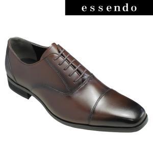 ビジネスシューズ アントニオ モレロ/ロングノーズの多機能ビジネスシューズ(ストレートチップ)・AT7502(ダークブラウン)/ANTONIO MORELLO メンズ 靴|essendo