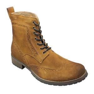 バレットジャム/ブーツ  ウイングチップブーツ/BJ004 キャメル/トリッカーズモデル/メンズ 靴|essendo