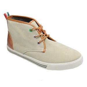 ベネトン/ブーツ スニーカータイプのジョージブーツ/BN1017 ベージュベロア/メンズ 靴|essendo