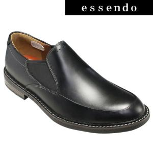 ビジネスシューズクラークス/サイドゴアビジネス&カジュアルスリップオン・Unelott Step UN(エロットステップ)・616E(ブラック)26120334/clarks メンズ 靴|essendo