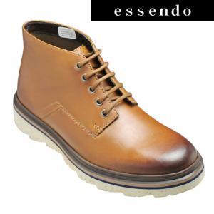 クラークス/ショートブーツ フレランハイク(ブラウン)627E 26119481/Frelan Hike/メンズ 靴|essendo