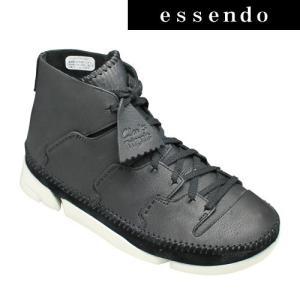 クラークス/トライジェニックフロー 646E(ブラック) 26119894/人気の3分割ソール/メンズ 靴|essendo