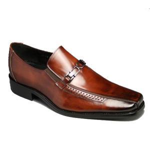 【ANTONIO DUCATI(アントニオ・ドュカッティ)】本革底ビジネスシューズ(スワールモカ・ビット)DC3314-br/メンズ 靴 essendo