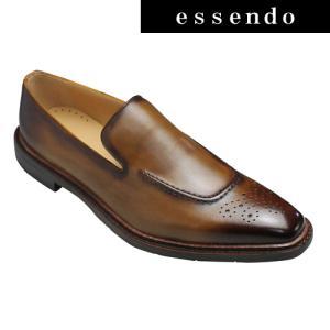 モデロ ビジネスシューズ フォーマルなドレス&カジュアルシューズ スリッポン DM9022 ライトブラウン MODELLO メンズ 靴 essendo