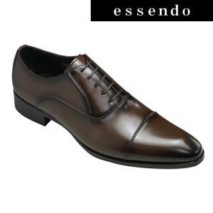 フランコルッチ ビジネスシューズ ストレートチップ FL56 ダークブラウン FRANCO LUZI メンズ 靴 essendo