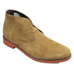 ヒロミチ ナカノ/デザートブーツBIGサイズ/168H(オークベロア)/4E幅広/メンズ 靴|essendo