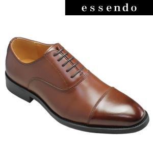 ビジネスシューズ ジョンマッケイ/フォーマルなビジネス&カジュアルシューズ(ストレートチップ)・JH1607(ブラウン)/Jhon Mckay メンズ 靴|essendo