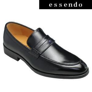 ビジネスシューズ ジョンマッケイ/フォーマルなビジネス&カジュアルシューズ(Uチップ)・JH1608(ブラック)/Jhon Mckay メンズ 靴|essendo