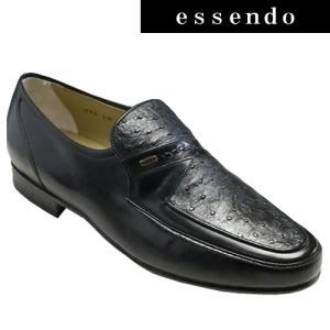 ドレスシューズリミテッド マドラス/ビジネスシューズ(スリッポン)md125(ブラック)/ラウンドトゥ 軽量 3E/本革底 メンズ 靴|essendo