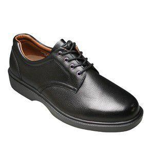 【WALKERS-MATE(ウォーカーズ・メイト)】牛革多機能コンフォートビジネスシューズ・レース(プレーントゥ)MW8800(ブラック)/メンズ 靴 essendo