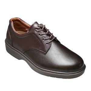 【WALKERS-MATE(ウォーカーズ・メイト)】牛革多機能コンフォートビジネスシューズ・レース(プレーントゥ)MW8800(ダークブラウン)/メンズ 靴 essendo