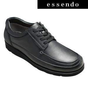 マドラス プロコンフォート多機能牛革ウォーキングシューズ PC300(ブラック)4E幅広/メンズ 靴|essendo