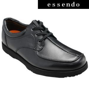 プロコンフォート/カジュアルコンフォートシューズ センターモカ PC6502(ブラック)/4E幅広/メンズ 靴|essendo