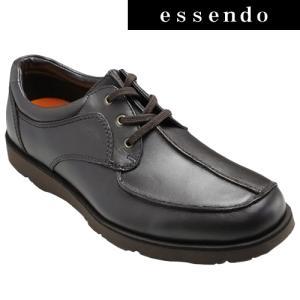 プロコンフォート/カジュアルコンフォートシューズ センターモカ PC6502(ブラウン)/4E幅広/メンズ 靴|essendo