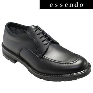 ビジネスシューズリーガルウォーカー/全天候型ビジネスシューズウォーキング(Uチップ)・RE232W(ブラック)冬底/3E幅・防滑タイプ/REGAL メンズ 靴|essendo