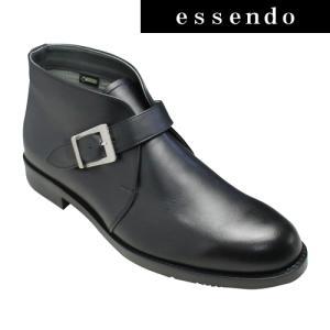 リーガル ゴアテックス(r)ファブリクス採用 3E サイドベルト ブーツ 冬底 42NR-BD4 ブラック REGAL メンズ 靴|essendo