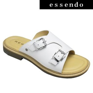 サンダルリーガル/ミュールレザーサンダル・59MR(ホワイト)/REGAL メンズ 靴 essendo