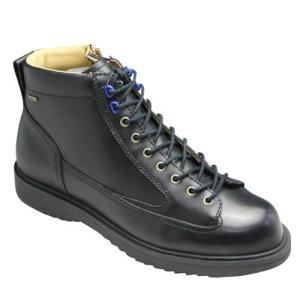 リーガル スタンダーズ/全天候型ワークブーツ・65JR(ブラック)/GORE-TEX(ゴアテックス)/メンズ 靴|essendo