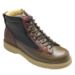 リーガル スタンダーズ/全天候型ワークブーツ・65JR(カーキ3コンビ)/GORE-TEX(ゴアテックス)/メンズ 靴|essendo