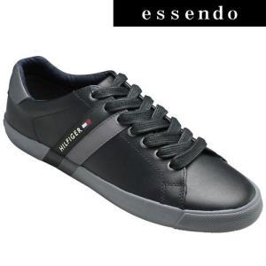 トミーヒルフィガー/スニーカー TM2039(ブラック)/Tommy Hilfiger/メンズ 靴 essendo