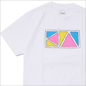 Know Wave(ノーウェーブ)  Triangle T-Shirt (Tシャツ)  WHITE ...