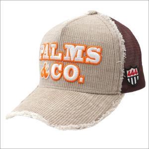 YOSHINORI KOTAKE(ヨシノリコタケ)  x Palms&co.(パームスアンドコー)  CORDUROY MESH CAP (キャップ)  BEIGE 251-001166-016x【新品】(ヘッドウェア)|essense