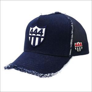 YOSHINORI KOTAKE(ヨシノリコタケ) 444 DENIM MESH CAP (キャップ) INDIGO 251-001169-017x【新品】(ヘッドウェア)|essense