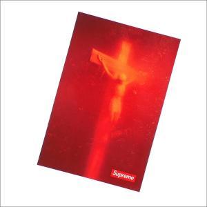 SUPREME(シュプリーム) Piss Christ Sticker (ステッカー) RED 290-004474-013+【新品】(グッズ)|essense