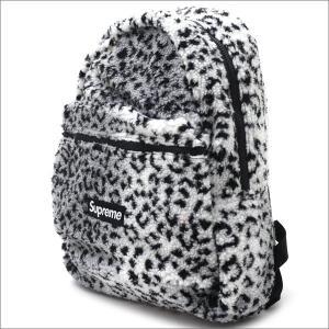 SUPREME(シュプリーム) Leopard Fleece Backpack (バックパック) WHITE 276-000274-010+【新品】(グッズ)|essense